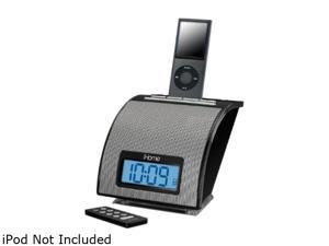iHome Alarm Clock for iPod Black IH11BV