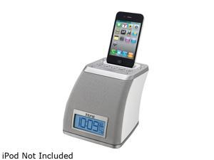 iHome Spacesaver App-friendly Alarm Clock for iPhone and iPod iP21WV