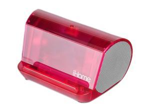 iHome IHM9PT Portable Translucent MP3 Stereo Speaker