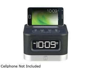 iHome Spacesaver FM Stereo Alarm Clock for Android Smartphones IC50
