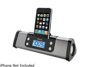 iHome IP16G Metal iPod Dock Portable Alarm Clock Speaker