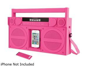 iHome Portable FM Stereo Boombox for iPhone/iPod IP4PZC