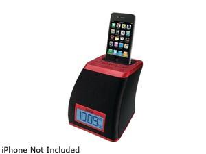 iHome Spacesaver App-friendly Alarm Clock for iPhone and iPod IP21RV