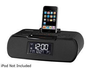 SANGEAN AM/FM/RDS Digital Atomic Clock Radio with iPod Dock RCR-10BLACK