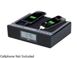 RCA Dual USB Charging Clock Radio RC117