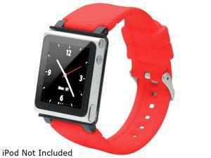 iWatchz Q Collection Watchband for iPod Nano (6th generation) CLRCHR22RED