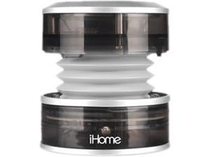 iHome iHM60GY Rechargeable Mini Speaker (Translucent Gray)