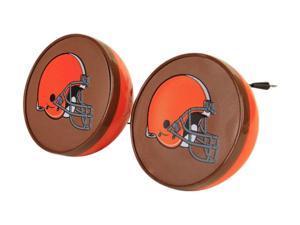 IHIP NFV4000CLE Cleaveland Browns Speaker Set Nfl Front Logo
