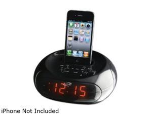 Dual Alarm Clock Radio for iPod and iPhone ICP131B