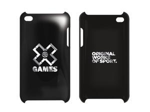 X Games Protective Case for iPod Touch 4th Gen - Platinum Black