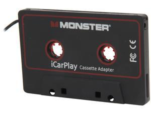 "Monster Cable iCarPlay Cassette Adapter 800 for MP3's & Smartphones to 1/8"" Mini - 3 ft. 133218"