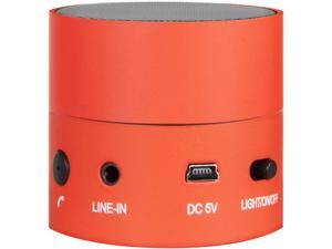 i.Sound ISOUND-5318 Red Fire Waves Rechargeable Bluetooth Color Changing Speaker with Speakerphone