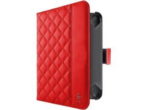 Belkin Red Quilted Case with Stand for iPad Mini F7N040VFC02