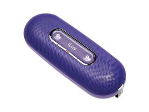 iLuv ISP100PUR Portable Speaker for MP3 Players and iPod