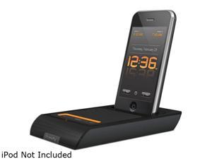 XtremeMac 3-in-1 Microdock Charging Audio Dock with Alarm Clock for iPod and iPhone IPU-MDK-11