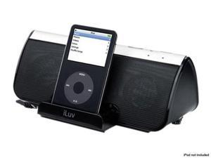 iLive i189BLK Stereo Speaker with iPod Dock