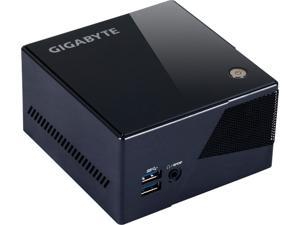 "Gigabyte BRIX GB-BXi7-5775, Intel 5th Gen Core i7 Processor, Iris Pro 6200 on board Graphics, supports 2.5"" HDD x 1, mSATA SSD Slot x 1, Ultra Compact PC Design with 4k resolution output via HDMI"