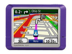 "Garmin Nuvi 205 Purple 3.5"" GPS Navigation with Voice Prompts"