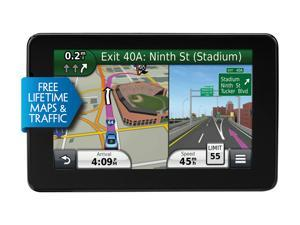 "GARMIN 5.0"" GPS Navigation w/ Lifetime Traffic & Map Updates"