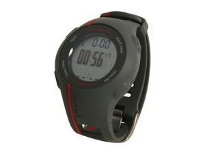 "GARMIN 1"" Men's Red GPS Navigation w/ Heart Rate Monitor"