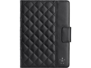 Belkin  Black  Quilted Cover Case with Stand for iPad Air in BlackF7N073B2C00