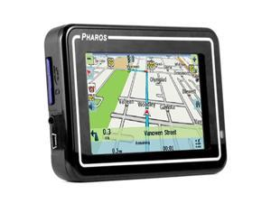 "Pharos PDR200 4.0"" GPS Navigation with Text-to-Speech"