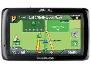 "MAGELLAN RoadMate 5045-LM 5.0"" GPS w/ Lifetime Traffic & Map Updates"