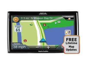 "MAGELLAN RoadMate RV9145-LM 7.0"" RV/Truck GPS Navigation w/ Lifetime Map Update"