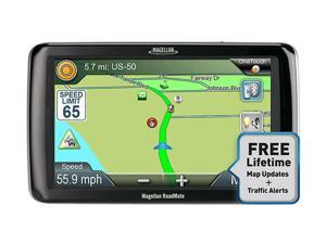 "MAGELLAN RoadMate RV9165T-LM 7.0"" RV/Truck GPS Navigation w/ Lifetime Traffic & Map Update"