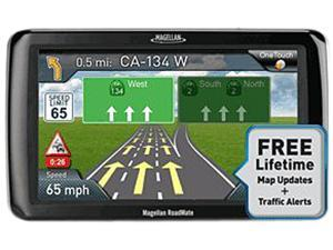 "MAGELLAN RoadMate 2255T-LMB 4.3"" GPS Navigation w/ Lifetime Map Update & Traffic"