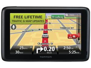 "TomTom GO 2535TM 5.0"" GPS Navigation With Lifetime Traffic And Map Updates"