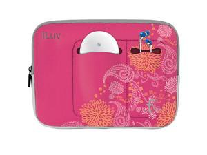 iLuv - 9.7-inch Neoprene Sleeve for iPad (FLORAL)