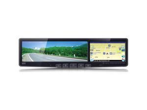 "BOYO 4.3"" Rear View Mirror w/ GPS Navigation & Bluetooth"