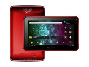 "Visual Land Prestige ME-107-8GB-RED 8GB Flash 7.0"" Internet Tablet (Red)"