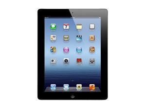 "Apple iPad 3 MD366LL/A-R Apple A5X 1GB RAM Memory 16GB Flash 9.7"" iPad with Wi-Fi + 4G LTE for AT&T 16GB - Black (3rd generation) iOS 5"
