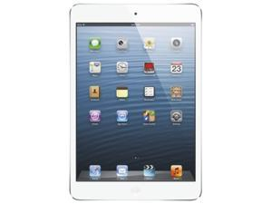 Apple iPad mini (16 GB) with Wi-Fi – White/Silver – Model #MD531LL/A