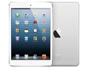 Apple iPad mini (32 GB) with Wi-Fi – White/Silver – Model #MD532LL/A