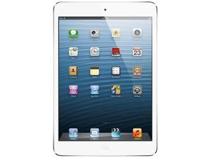 Apple iPad mini (64 GB) with Wi-Fi – White/Silver – Model #MD533LL/A
