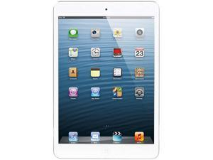 "Apple iPad Mini 2 ME279LL/A pple A7 chip with 64-bit architecture and M7 motion coprocessor 1GB Memory 16GB 7.9"" iPad Mini With Wi-Fi - White & Silver iOS 7"