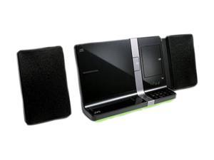 Dual Dock Sound System For Dockipad & Ipod Black