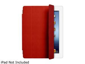 Apple MD304LL/A iPad Leather Smart Cover Red