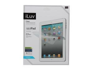 iLuv iCC1197 Screen Protective Film Kit Clear