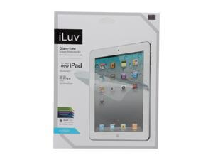 iLuv iCC1198 Glare-Free Protective Film Kit for iPad 3 Clear
