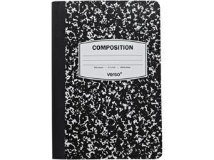 Lightwedge Black, White Verso Trends Scholar 7-Inch Tablet Case Model VR080-100-23