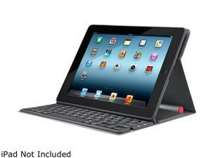 Logitech Solar Powered Bluetooth Keyboard Folio for iPad 2 and iPad (3rd/4th generation) (920-003907)