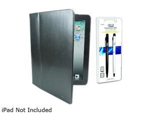 Adesso ACS-120FG Case and 2-in-1 Stylus Pen for iPad, iPad 2 Gray