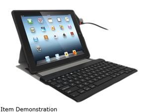 Kensington Black KeyFolio Secure for New iPad -With ClickSafe lock Model K67755AM