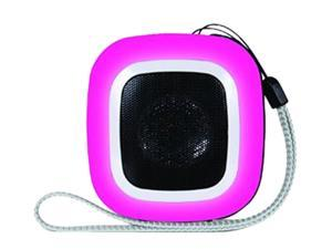 dreamGEAR ISOUND-1601 Mini Speaker (square) Pink