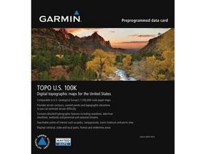 GARMIN TOPO U.S. 100K Micro SD/SD Card