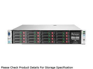 HP ProLiant DL380p Gen8 Rack Server System 2 x Intel Xeon E5-2670 2.6GHz 8C/16T 32GB (4 x 8GB) DDR3 670852-S01